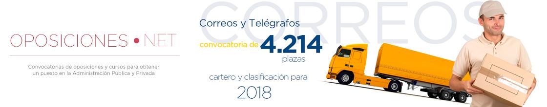Correos y Telégrafos 2018