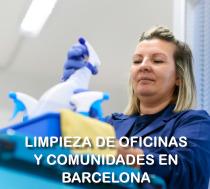 Servicios de limpieza profesionales en Barcelona
